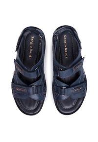 Niebieskie sandały Sergio Bardi klasyczne, na lato