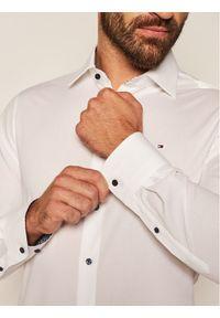 Biała koszula biznesowa TOMMY HILFIGER
