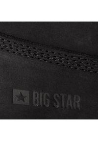 Czarne śniegowce Big-Star na spacer, z cholewką