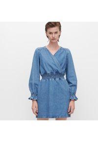 Niebieska sukienka Reserved mini