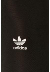 adidas Originals - Legginsy. Kolor: czarny. Materiał: dzianina