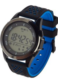 Niebieski zegarek Garett Electronics smartwatch, sportowy