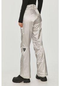 Srebrne spodnie sportowe Rossignol Thinsulate, snowboardowe