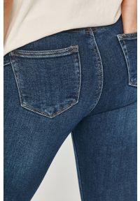 Niebieskie jeansy Answear Lab wakacyjne, gładkie