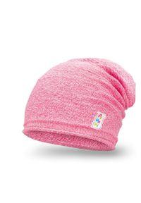 Wiosenna czapka dziewczęca PaMaMi - Jasny róż. Kolor: różowy. Materiał: bawełna, elastan. Sezon: wiosna