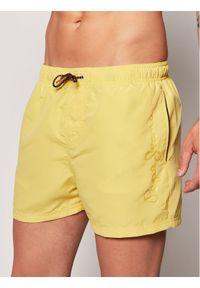 Pepe Jeans Szorty kąpielowe Bryan PMB10236 Żółty Regular Fit. Kolor: żółty