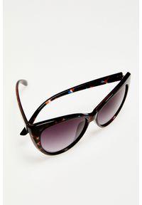 Wielokolorowe okulary przeciwsłoneczne MOODO w gradientowe wzory
