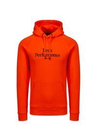 Peak Performance - Bluza PEAK PERFORMANCE ORIGINAL. Materiał: bawełna. Wzór: napisy, haft. Styl: sportowy, klasyczny