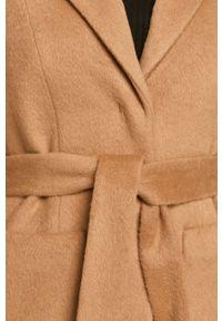 Beżowy płaszcz Hugo casualowy, bez kaptura #6