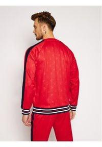 Fila Bluza Hinto 687883 Czerwony Regular Fit. Kolor: czerwony