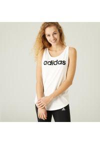 Top sportowy do fitnessu Adidas bez rękawów