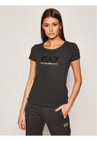 EA7 Emporio Armani T-Shirt 8NTT63 TJ12Z 3909 Szary Slim Fit. Kolor: szary