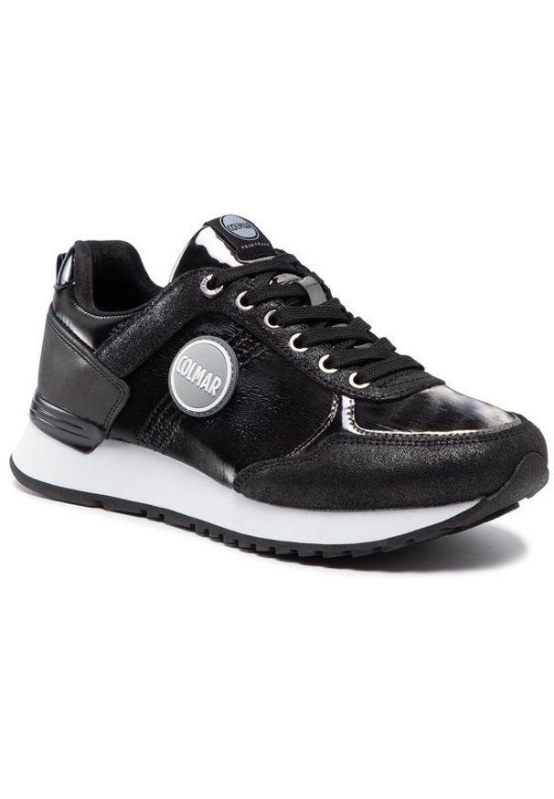 Colmar Sneakersy Travis Punk 112 Czarny. Kolor: czarny
