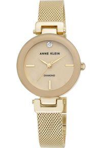 Złoty zegarek Anne Klein