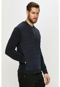 Niebieska kurtka Only & Sons gładkie, na co dzień, casualowa, bez kaptura