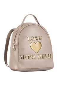 Beżowy plecak Love Moschino