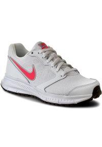 Białe buty do biegania Nike Nike Downshifter, z cholewką