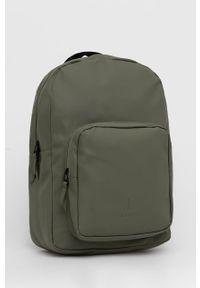 Rains - Plecak 1375 Base Bag. Kolor: zielony