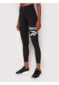 Reebok Legginsy Identity Logo GL2547 Czarny Slim Fit. Kolor: czarny