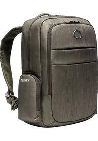 Niebieski plecak na laptopa Delsey