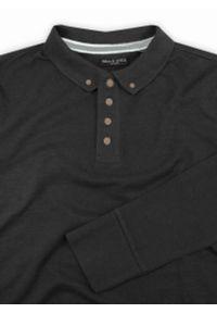 Szary t-shirt Brave Soul casualowy, na co dzień, polo