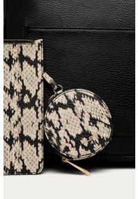 Czarny plecak Aldo z aplikacjami, elegancki