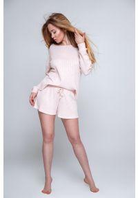Sensis - Piżama Magnetism. Kolor: różowy. Długość: długie