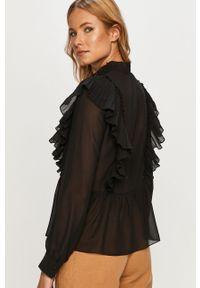 Czarna koszula Vero Moda z długim rękawem, długa