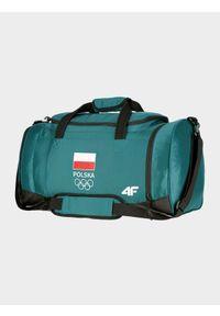 4f - Torba sportowa Polska - Tokio 2020. Kolor: zielony. Materiał: materiał, guma. Wzór: nadruk