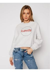 Levi's® Bluza Vintage Raglan Fleece 18722-0015 Szary Regular Fit. Kolor: szary. Długość rękawa: raglanowy rękaw. Styl: vintage