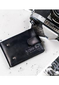 ALWAYS WILD - Etui na karty czarne Always Wild N007L-VTK-N-4800 BLA. Kolor: czarny. Materiał: skóra