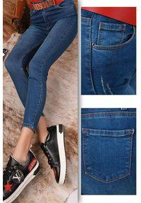 Niebieskie jeansy IVET na co dzień, klasyczne