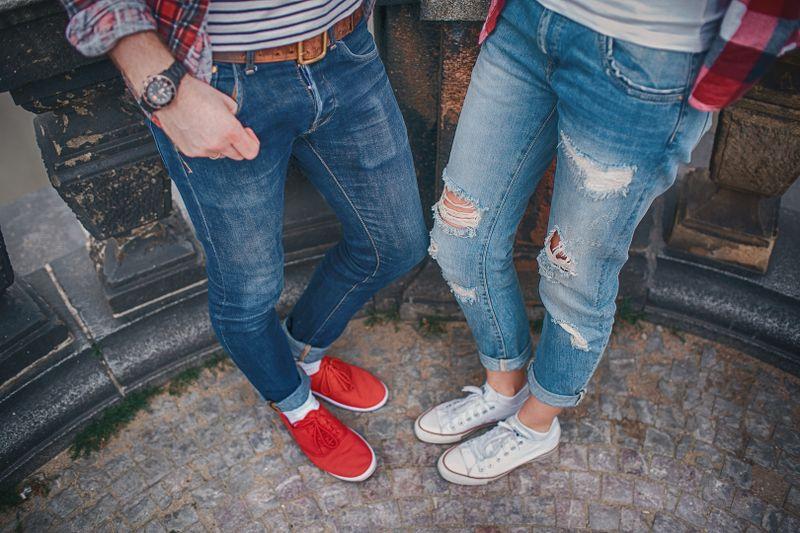 jeansy boyfriend damskie