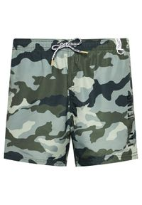 Pepe Jeans Szorty kąpielowe Ramiro PMB10266 Zielony Regular Fit. Kolor: zielony