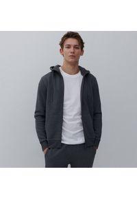 Reserved - Bluza z kapturem - Szary. Typ kołnierza: kaptur. Kolor: szary