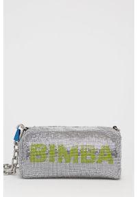 Bimba y Lola - BIMBA Y LOLA - Torebka. Kolor: srebrny. Rodzaj torebki: na ramię