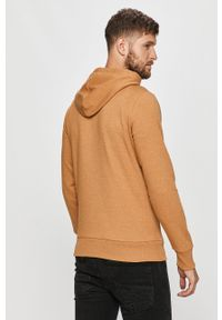 Brązowa bluza nierozpinana PRODUKT by Jack & Jones z kapturem