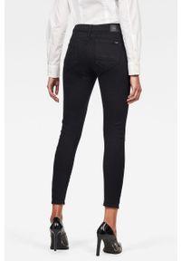 Czarne jeansy G-Star RAW z aplikacjami