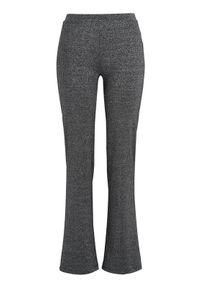 Cellbes Połyskujące legginsy model bootcut Czarny błyszczący female czarny 38/40. Okazja: na co dzień. Kolor: czarny. Materiał: guma. Styl: elegancki, casual