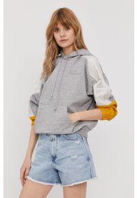 Szara bluza Levi's® raglanowy rękaw, biznesowa