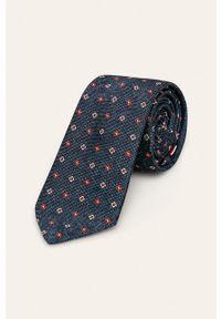 Wielokolorowy krawat Tommy Hilfiger Tailored