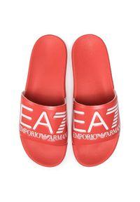 Czerwone klapki EA7 Emporio Armani #7