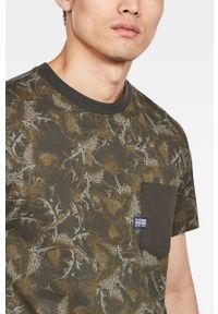 Wielokolorowy t-shirt G-Star RAW na co dzień, casualowy