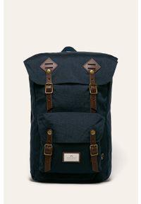 Doughnut - Plecak American Vintage. Kolor: niebieski. Styl: vintage