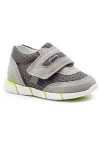 Bartek - Sneakersy BARTEK - 51949/SA1 Szary. Okazja: na spacer, na co dzień. Zapięcie: rzepy. Kolor: szary. Materiał: skóra, zamsz, materiał. Szerokość cholewki: normalna. Styl: casual