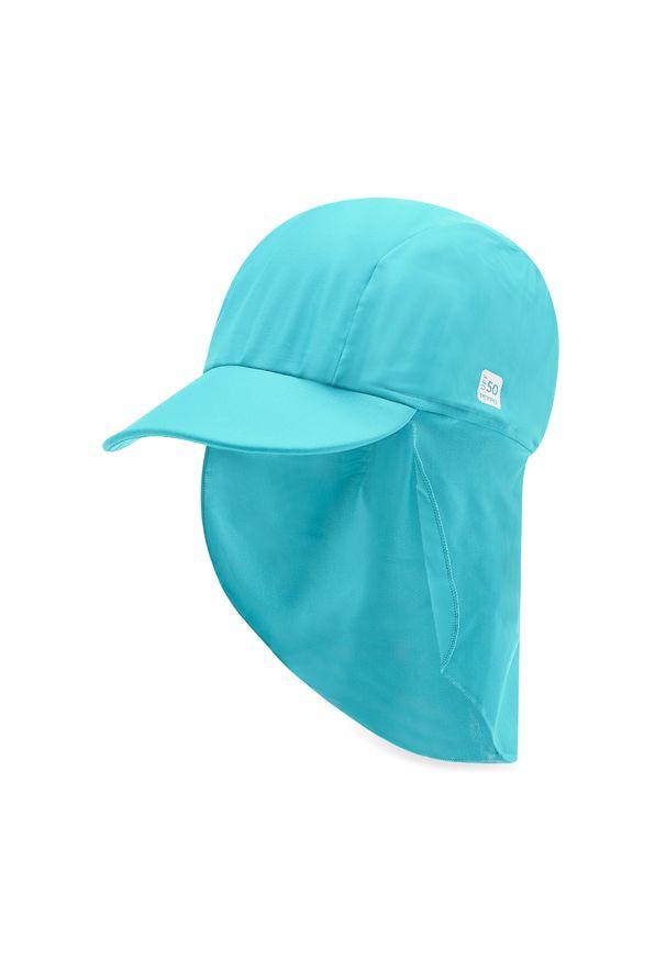 Reima - Czapka z daszkiem REIMA - Kilpikonna 518587 Blue 7330. Kolor: niebieski. Materiał: poliester, elastan, materiał