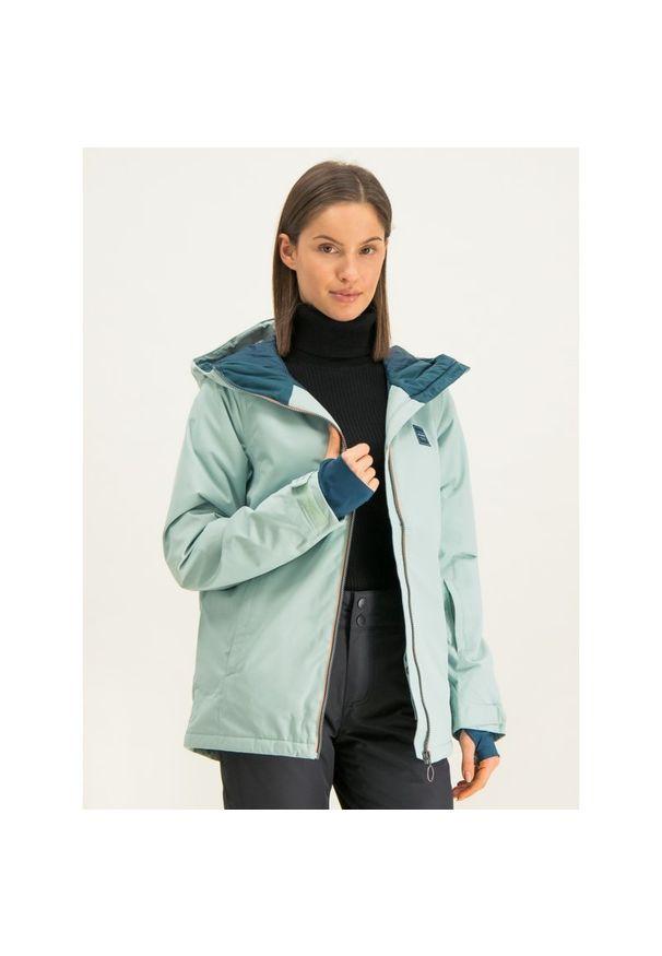 Niebieska kurtka narciarska Billabong