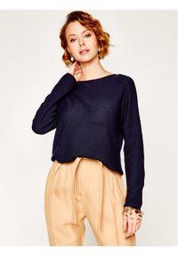 Niebieski sweter klasyczny Marc O'Polo polo
