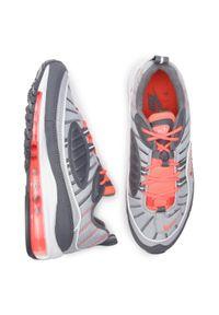 Szare buty sportowe Nike Nike Air Max, z cholewką