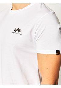 Biały t-shirt Alpha Industries